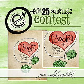 Elove contest august