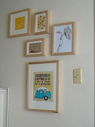 Remember happiness framed