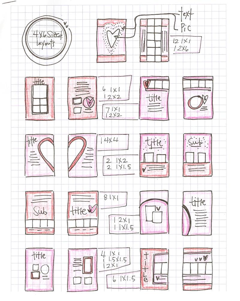 Vol25 here is a simple scrapbook idea blueprint 1 malvernweather Images