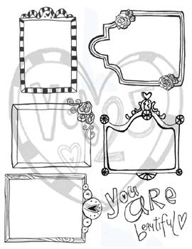 Frames pattern 2 sm