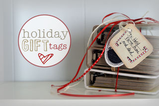 Holiday tags books