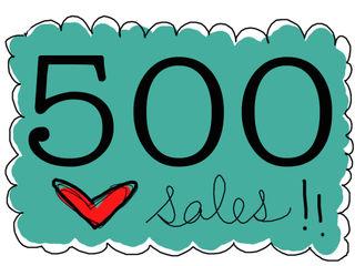 500 sales