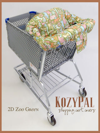Shopping cart cover 3