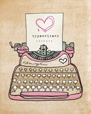 I heart typewriters sm