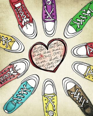 I love shoes Acidic Version sm