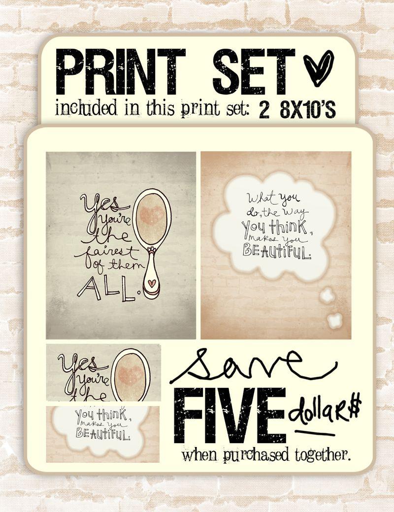 Print set powder room. VOL 25  new print set    created especially for your bathroom