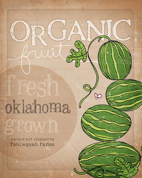 Organic fruit sm