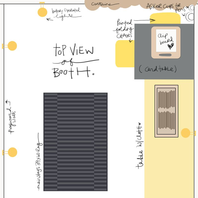 Booth layout copy