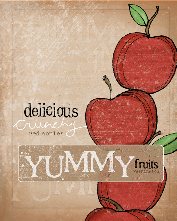 Delicious red apples sm