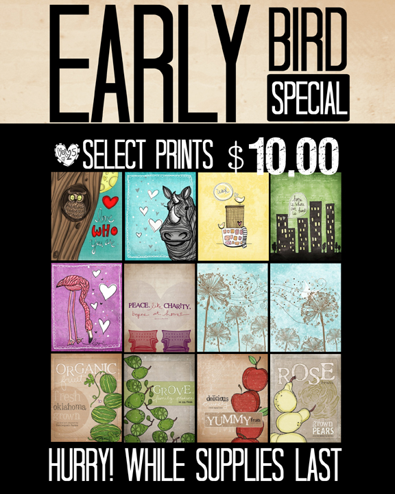 Early bird special copy