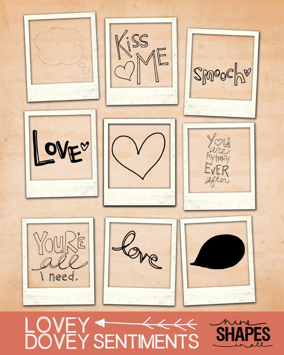 Lovey dovey sentiments web