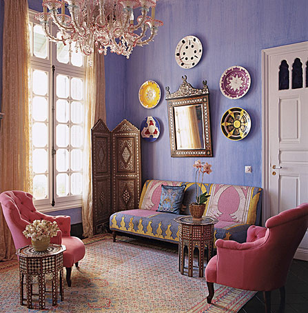 Interior design moroccan