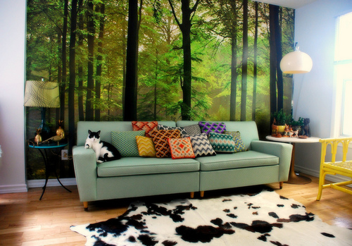 Interior design inspiration wall murals for Mural inspiration