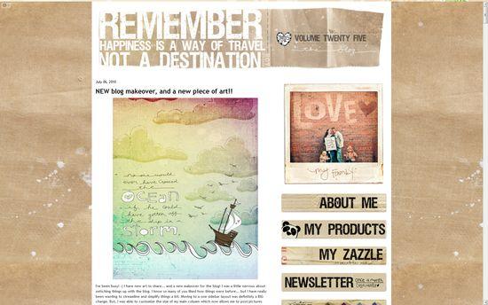 New blog makeover