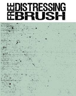 Distressing brush