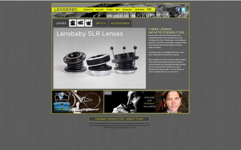 Lens baby