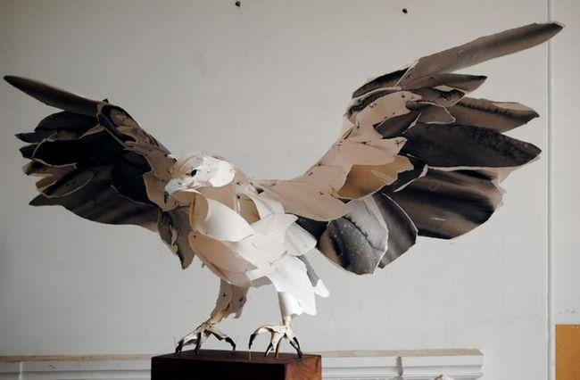 Paper sculpture 4