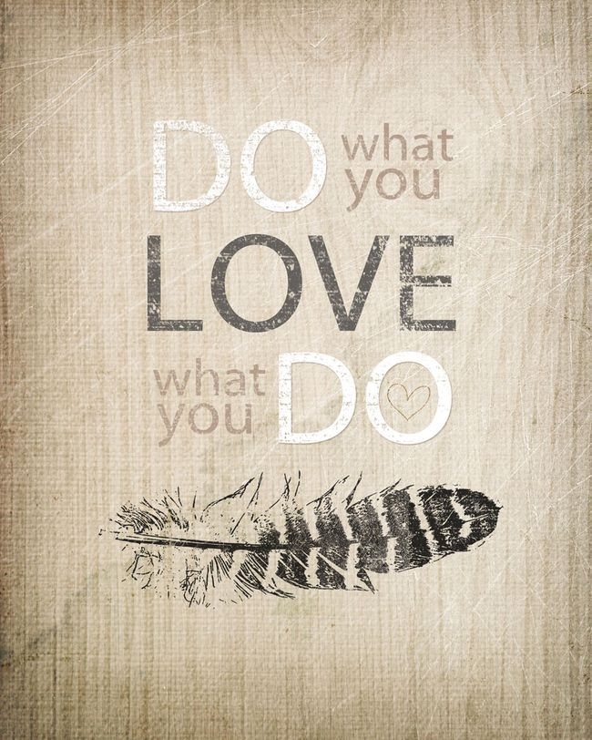 DO WHAT YOU LOVE WEB