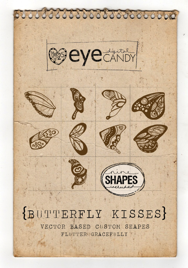 BUTTERFLY KISSES collection page