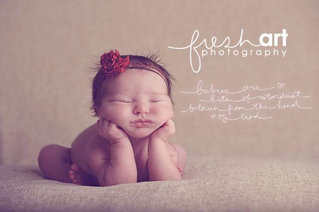 HUSH FRESH ART BABIES ARE STARDUST