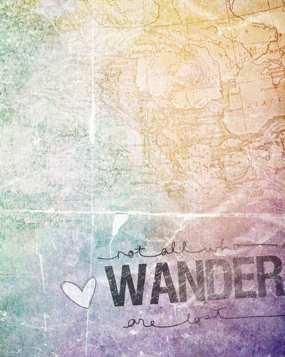 NOT ALL WHO WANDER  web