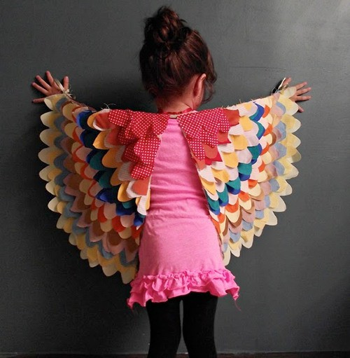 DIY BIRD WINGS