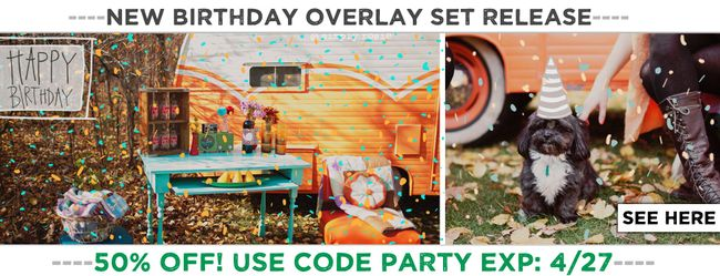 BIRTHDAY OVERLAY SET 3
