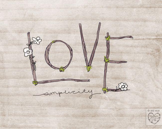 LOVE SIMPLICITY WEB