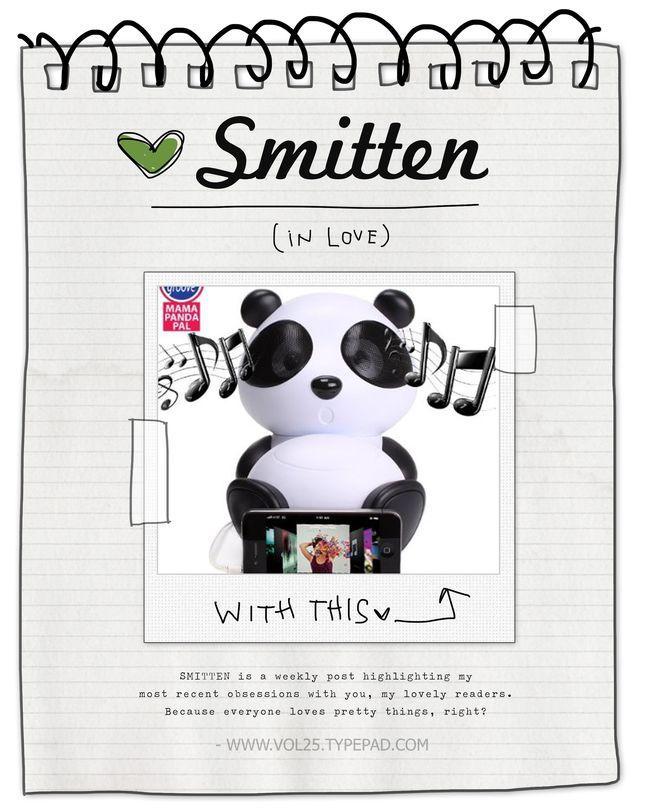 SMITTEN PANDA SPEAKERS