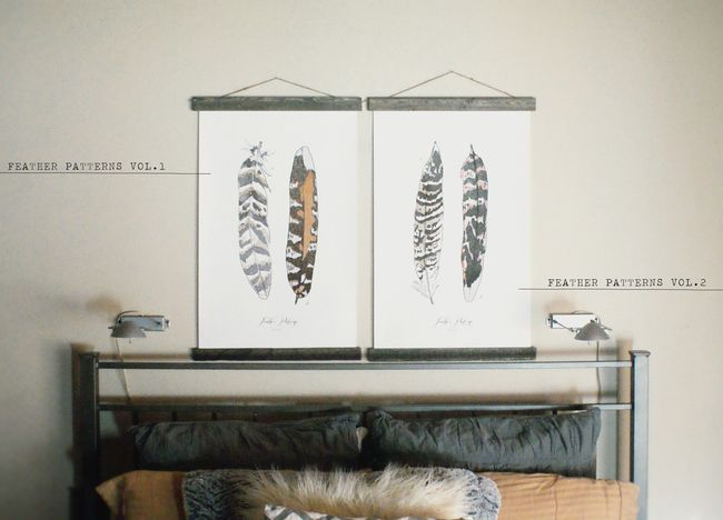FEATHER PATTERNS VOL 1 AND 2
