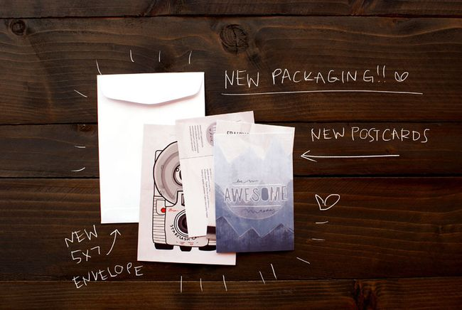 VOL25 Shop Packaging