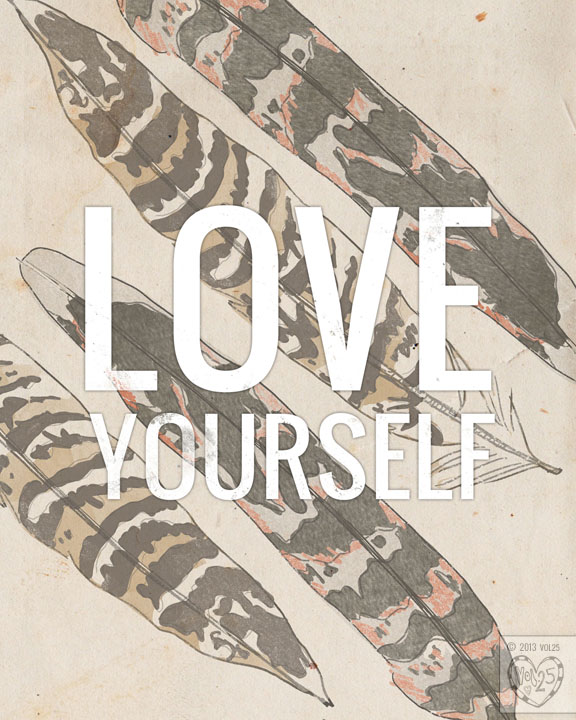 LOVE YOURSELF by VOL25