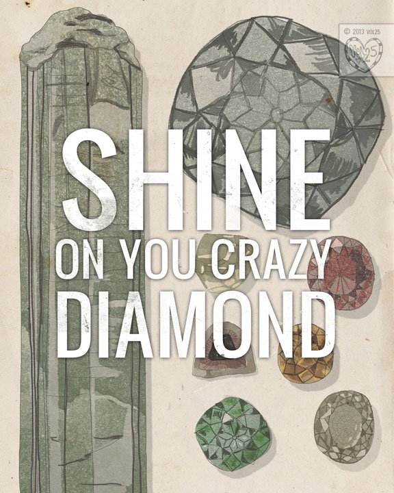 SHINE ON DIAMOND by VOL25