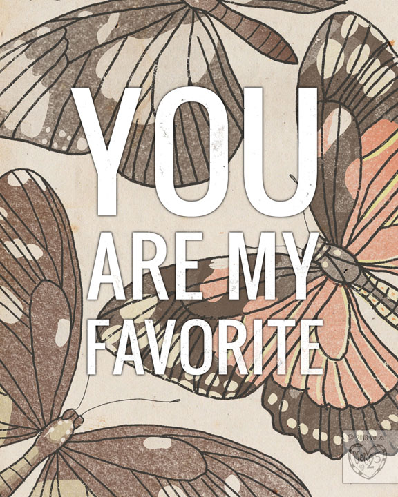 YOU ARE MY FAVORITE by VOL25