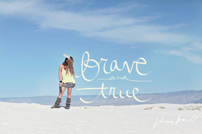 BRAVE AND TRUE