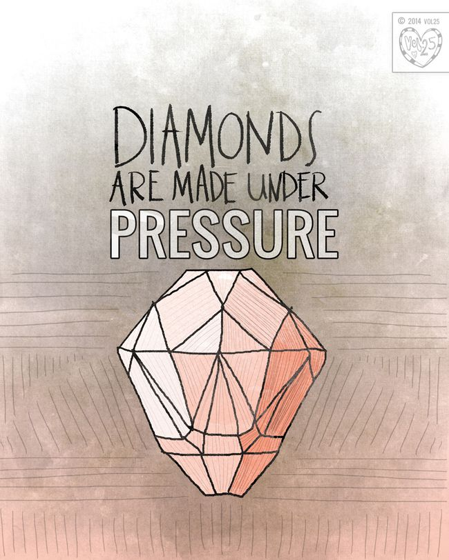 DIAMONDS ARE MADE BY VOL25