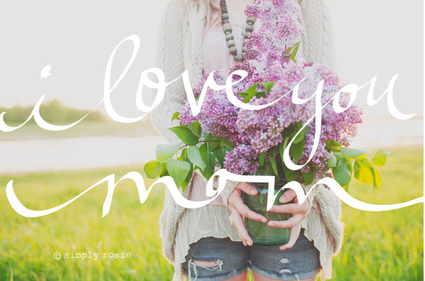 I LOVE YOU MOM BY VOL25