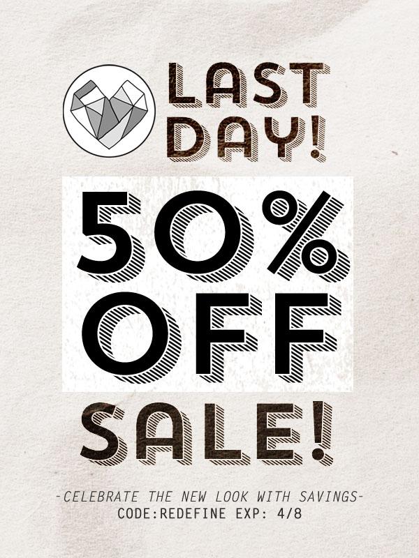 50 PERCENT LAST DAY