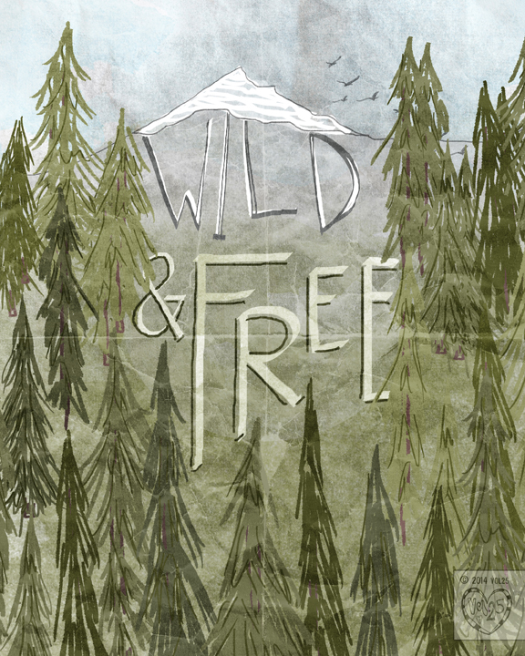 WILD AND FREE BY VOL25