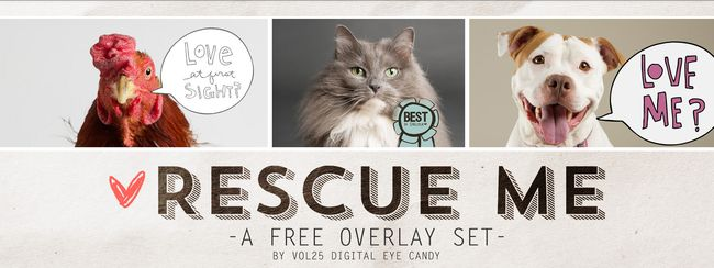 RESCUE ME FREE OVERLAY SET BY VOL25