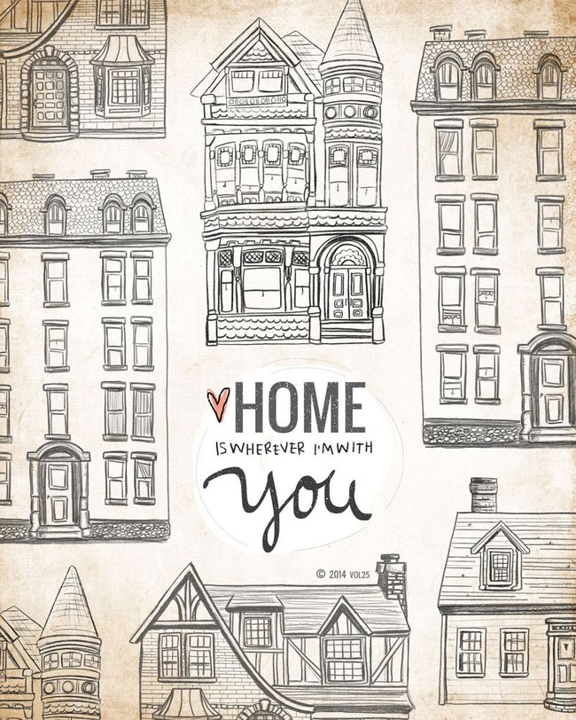 HOME IS WHEREVER WE ARE TOGETHER BY VOL25