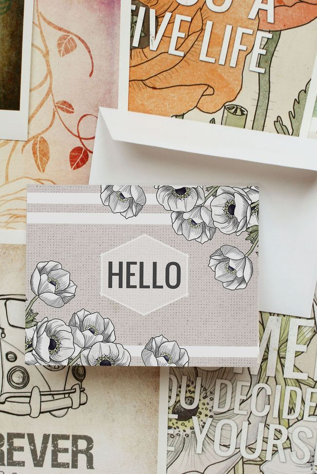 PERSONALIZED NOTE CARD BY 1 Vol25