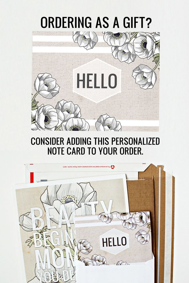 PERSONALIZED NOTE CARD 2 by vol25