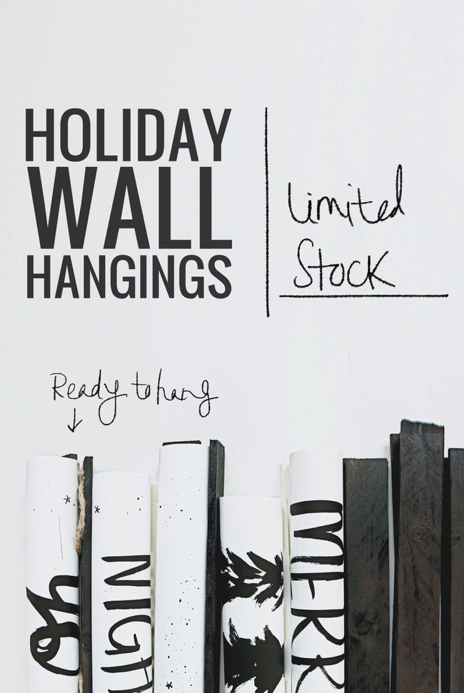 Holiday wall hangings by vol25