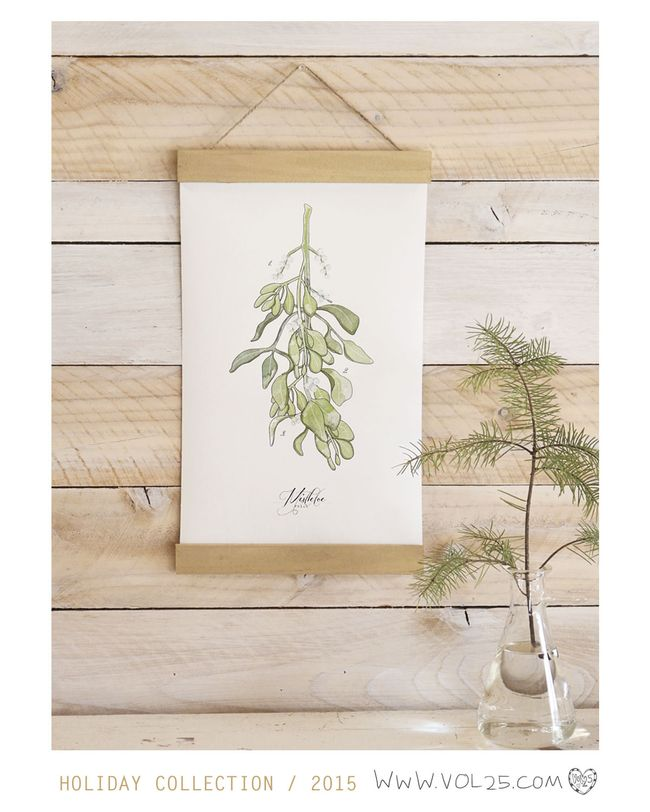 MINI SCIENCE POSTER LIGHT MISTLETOE