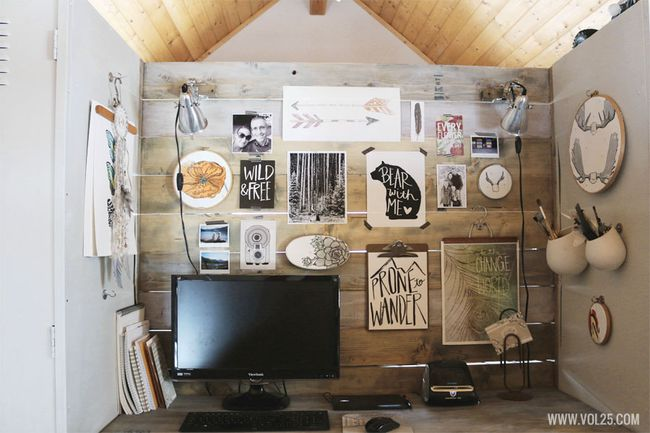 Studio space 4 with wood wall by vol25