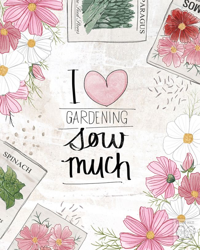 I love Gardening by VOL25