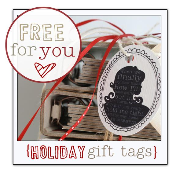 Free holiday tags